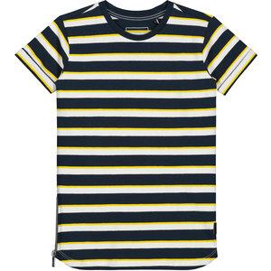 LEVV jongens t-shirt dark navy stripe