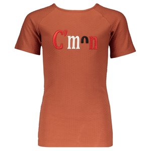 NOBELL meisjes t-shirt cognac kio