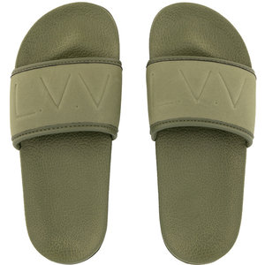 LEVV jongens slippers leaf green