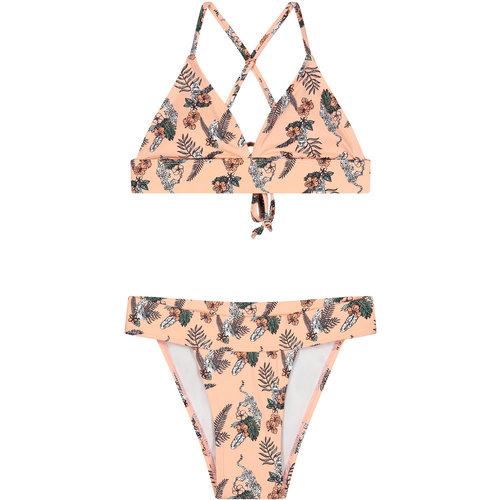 LEVV LEVV meisjes bikini soft peach flower