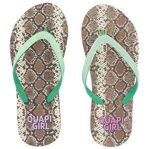 Quapi meisjes slippers snake aop anika