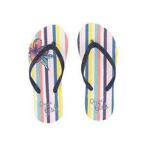 Quapi meisjes slippers multi stripe anika