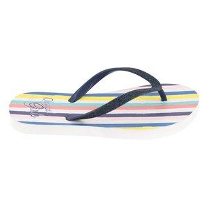 Quapi Quapi meisjes slippers multi stripe anika