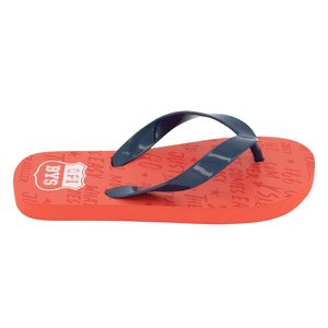 Quapi Quapi jongens slippers vintage red text austin