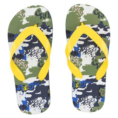 Quapi Quapi jongens slippers grafiti aop austin