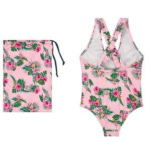 Quapi Quapi meisjes badpak light pink flower belicia
