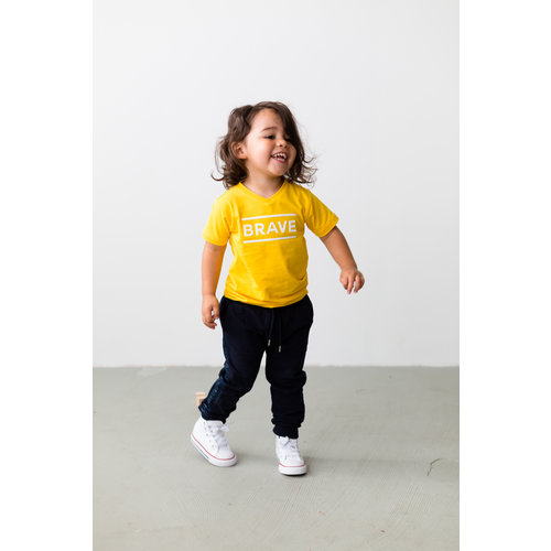 LEVV LEVV jongens t-shirt lemon