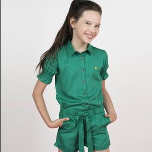 LIKE FLO meisjes jumpsuit sea green