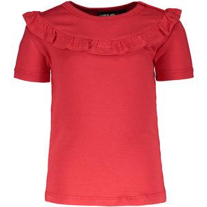 LIKE FLO meisjes t-shirt cerise