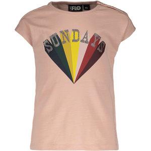 LIKE FLO meisjes t-shirt lt pink
