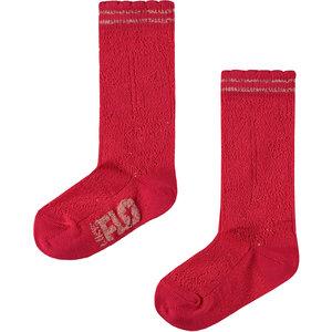 LIKE FLO meisjes sokken cerise
