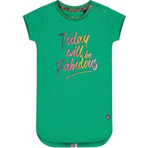 Quapi meisjes jurk jungle green beliz
