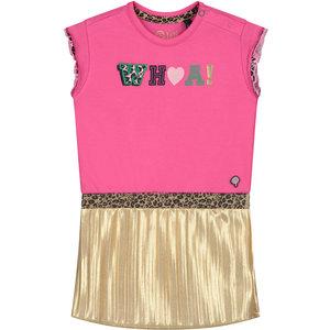 Quapi Quapi meisjes jurk hot pink becky