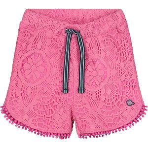 Quapi meisjes korte broek hot pink bruna
