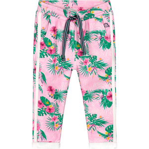 Quapi meisjes broek light pink flower britt