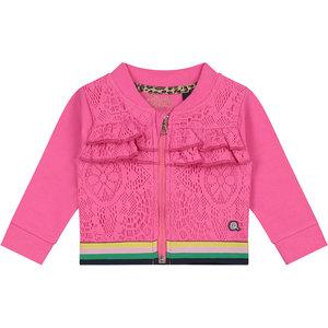 Quapi meisjes vest hot pink bridget