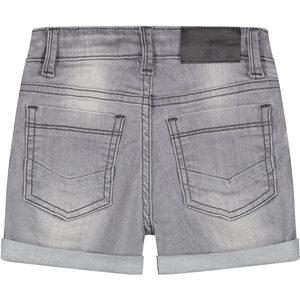 Quapi Quapi jongens korte broek light grey denim brecht