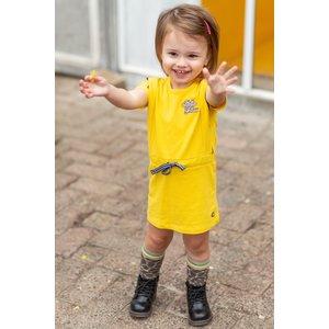 Quapi Quapi meisjes jurk banana yellow baukje