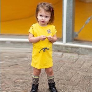 Quapi meisjes jurk banana yellow baukje
