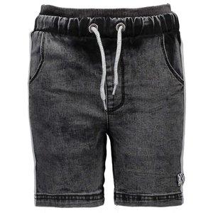 B.NOSY jongens korte broek black denim