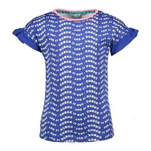 B.NOSY meisjes t-shirt check it princess