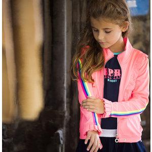 B.NOSY meisjes vest festival pink