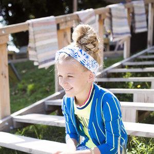 B.NOSY meisjes haarband delfts blue