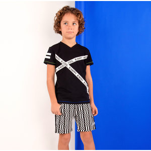 B.NOSY jongens t-shirt black