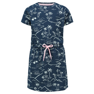 NOPPIES meisjes jurk dress blues clearwater