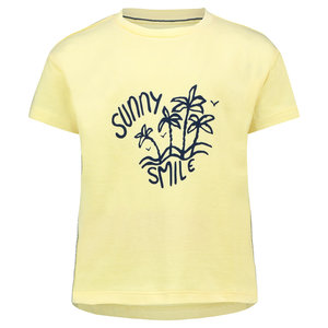 NOPPIES meisjes t-shirt mellow yellow clark