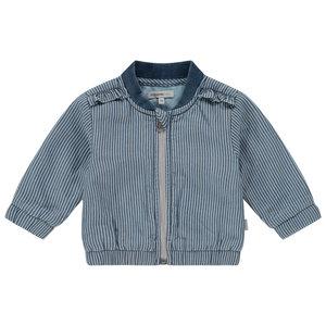 NOPPIES meisjes jas striped washed light cadzand