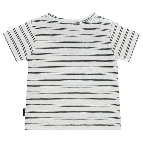 NOPPIES NOPPIES jongens t-shirt blanc de blanc asbury park