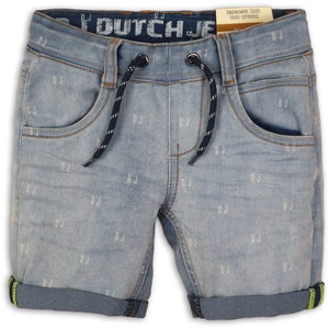 DJ DUTCHJEANS jongens broek korte broek light blue jeans beach co