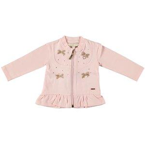 LE CHIC meisjes vest  pretty in pink