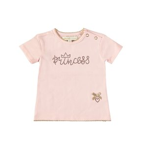 LE CHIC meisjes t-shirt pretty in pink princess
