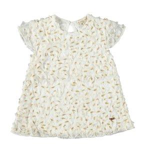 LE CHIC meisjes jurk white