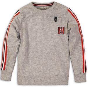 DJ DUTCHJEANS jongens sweater grey melee dj athletic