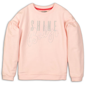 DJ DUTCHJEANS meisjes trui light pink enjoy