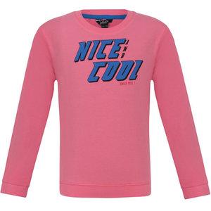 LITTLE MISS JULIETTE meisjes trui nice cool pink