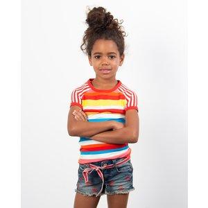 DUTCH DREAM DENIM meisjes t-shirt lotte ddd x br@nd
