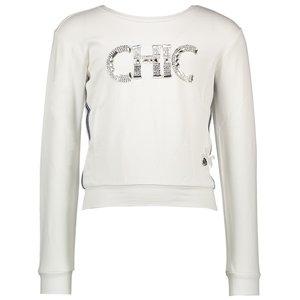 LE CHIC meisjes trui white chic