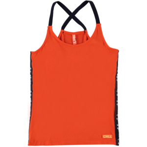 O'Chill meisjes singlet orange