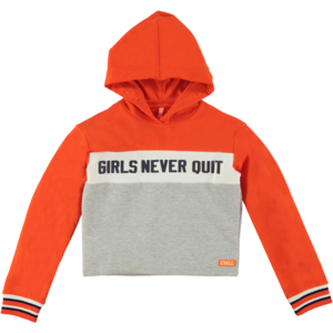 O'Chill meisjes sweater grey/orange