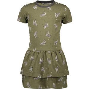 MOODSTREET meisjes jurk khaki