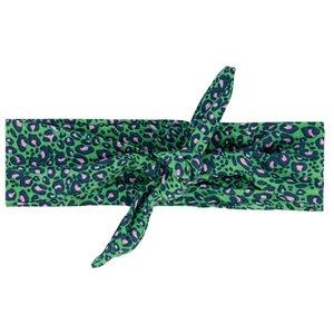 Quapi meisjes hoofdband jungle green leopard athilda