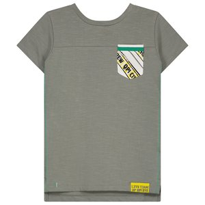 Quapi jongens t-shirt shadow green ajay