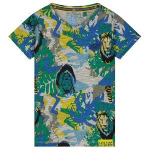 Quapi jongens t-shirt emerald jungle abdel
