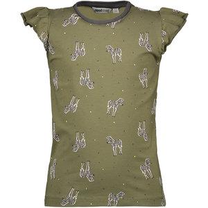 MOODSTREET meisjes t-shirt khaki