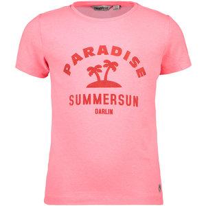 MOODSTREET meisjes t-shirt diva pink