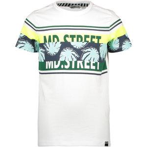 MOODSTREET jongens t-shirt white